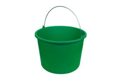 Wiadro plastikowe zielone 12 litrów