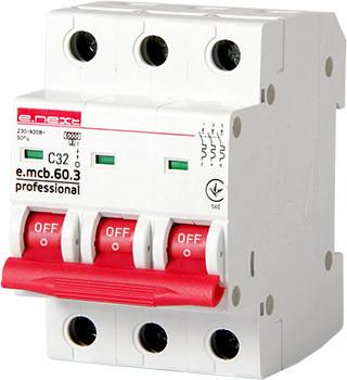 Wyłącznik nadprądowy mcb.pro60 3p c32a 6ka