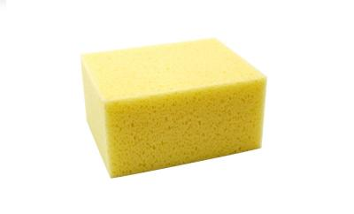 Gąbka kostka hydrochłonna żółta 140/110/70mm
