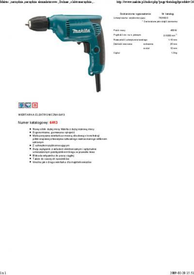 Wiertarka 450w 10mm