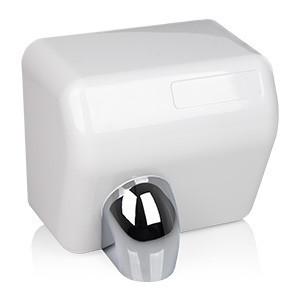 Elektryczna suszarka do rąk barrelflow abs 2500w biała