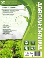 Agrowłóknina biała 17g agrospeed 1.6*10m