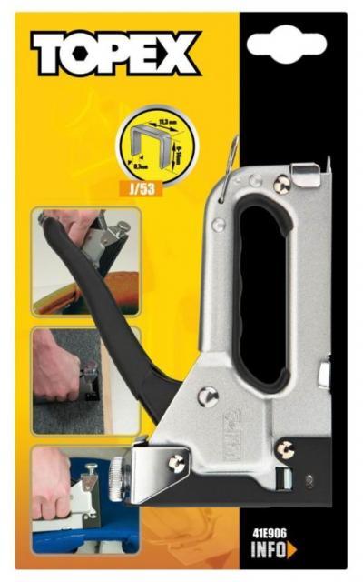 Zszywacz tapicerski 4-14mm metalowy regulowany
