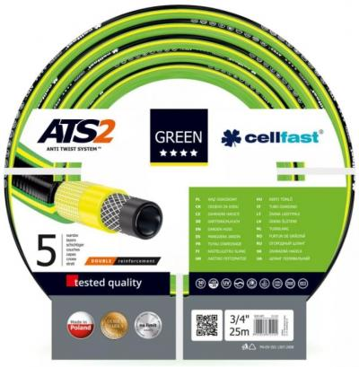 Wąż ogrodowy green ats 3/4 50mb
