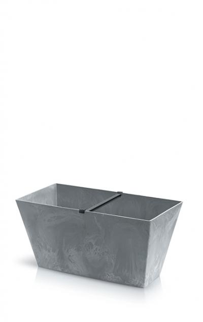 Doniczka Tubus  case Beton Effect - beton DTUC600E-422U