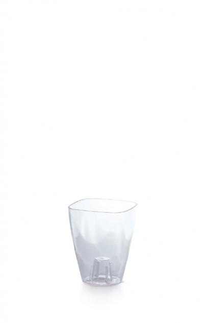 Doniczka Coubi  - przezroczysty transparentny DUKO130P-CPNO
