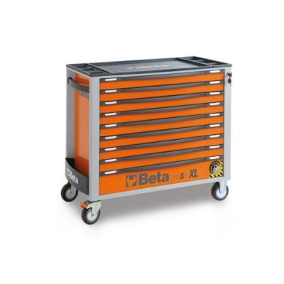 Wózek narzędziowy z 9 szufladami pomar. c24saxl/9-0