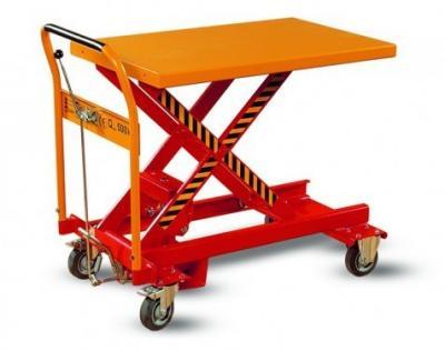 Wózek podnośnikowy platformowy wrp1-0501