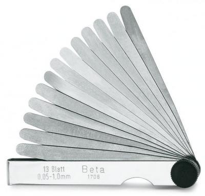 Szczelinomierz metryczny 0,05-1mm