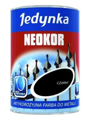Antykorozyjna farba podkładowa neokor czarny 0.5l