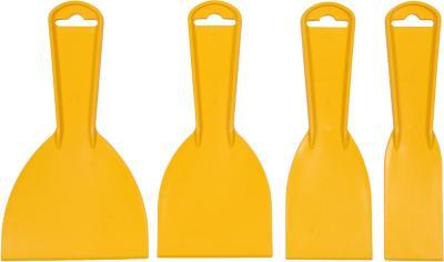Szpachelki plastikowe 4 szt. 40,60,80,100mm