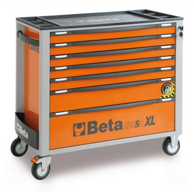 Wózek narzędziowy z 7 szufladami pomar. c24saxl/7-0