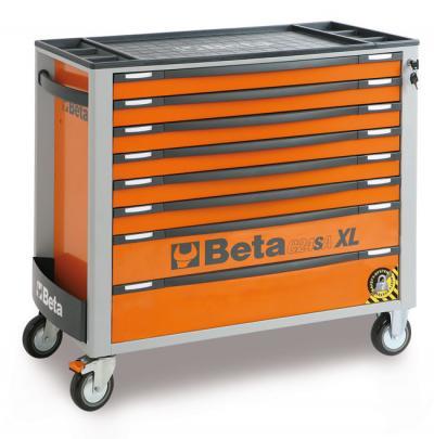 Wózek narzędziowy z 8 szufladami pomar. c24saxl/8-0