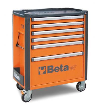 Wózek narzędziowy z 6 szufladami c37/6-0