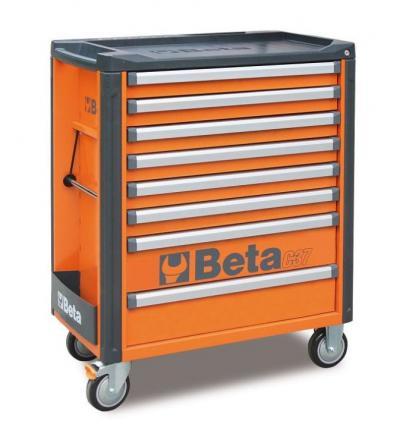 Wózek narzędziowy z 8 szufladami c37/8-0