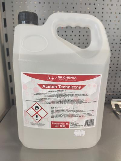 Aceton techniczny 5L Bilchemia