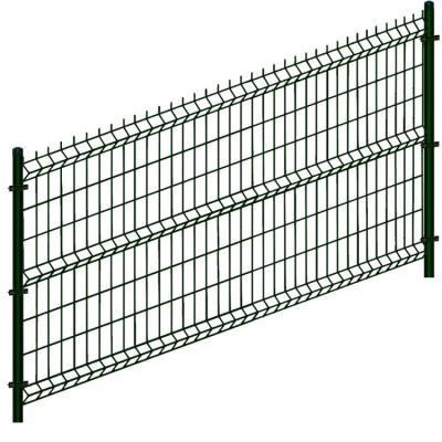 Panel ogrodzeniowy 2500*1230mm 2w/h*4mm czarny ral 9005