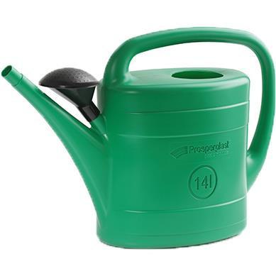 Konewka plastikowa 14l spring - zielony
