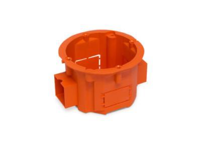 Puszka łączeniowa 60x45 płytka szeregowa pomarańczowa