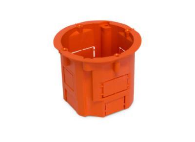 Puszka łączeniowa 60x60 głęboka pomarańczowa