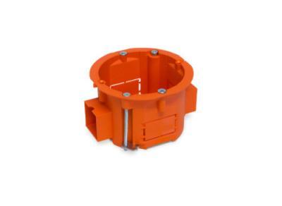 Puszka łączeniowa 60x45 płytka szeregowa pomarańczowa g/k