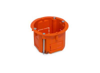 Puszka łączeniowa 60x45 płytka pomarańczowa g/k
