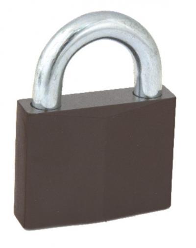 Kłódka zasuwkowa wzmocniona kw01 3 klucze