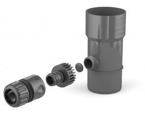 Odzyskiwacz wody deszczowej 90mm grafit