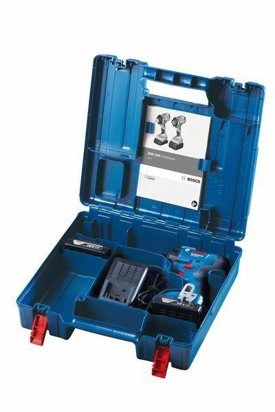 Klucz udarowy akumulatorowy gdr 180-li 2*3.0 ah