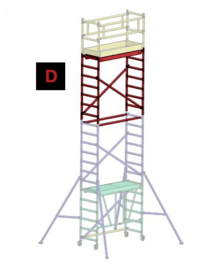 Faraone rusztowanie compact 75*180 pakiet d