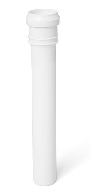 Króciec biały 32 x 250''