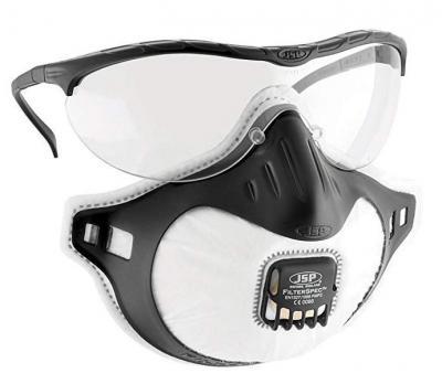 Jsp okulary ochronne + filterspec fmp2 przeźroczyste