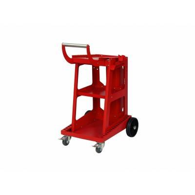 Wózek uniwersalny ideal 4-kołowy 3-półki czerwony