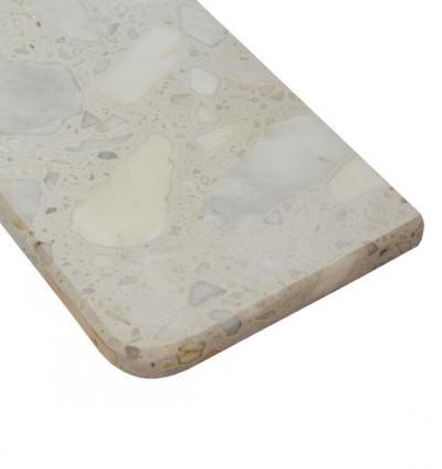 Parapet Arabescato Bianco gr. 3 cm.