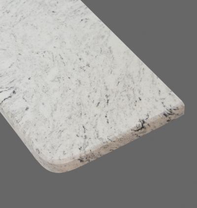 Parapet Misty White gr. 3 cm.