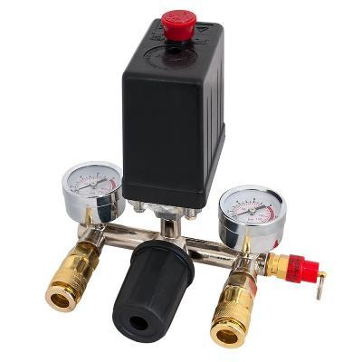 Reduktor+włącznik ciśnieniowy+2 złącza 230v 8bar