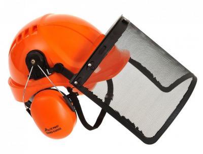 Zestaw ochrony głowy dla pilarzy pw98