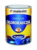 Emalia chlorokauczuk czarna 5l