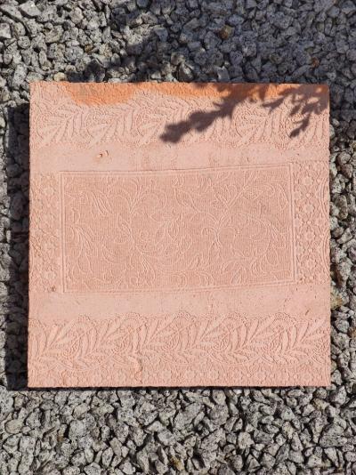 Kolorowa płytka chodnikowa - cegła 35x35x5cm