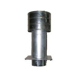 Deflektor ocynkowany z płytą 140mm