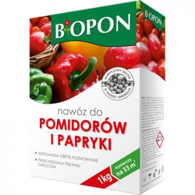 Nawóz do pomidorów i papryki granulat 1 kg