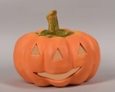 Duża dynia - figurka ceramiczna Halloween