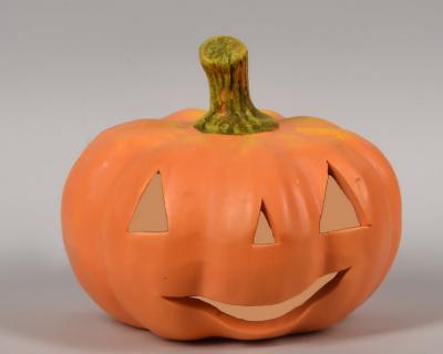 Średnia dynia - figurka ceramiczna Halloween
