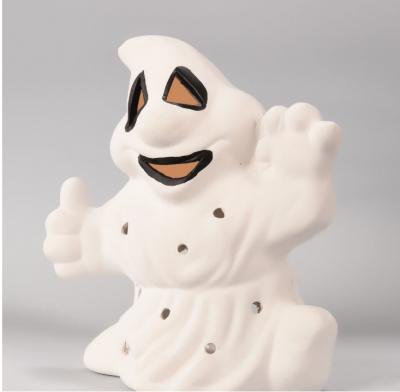 Duszek biały - figurka ceramiczna Halloween