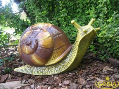 Ślimak duży figurka ceramiczna ogrodowa