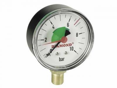 Manometr techniczny śr. 63mm 0-4 bar gw 1/4''