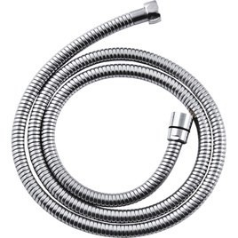 Wąż natryskowy chrom 175cm rozciągliwy stożkowy podwójny zac