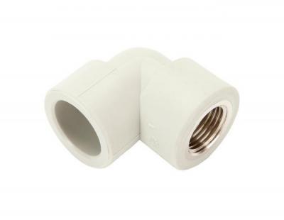 Pp-r kolano gwint wewnętrzny 90 stopni 25mm x 1/2 pn25
