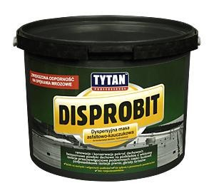 Disprobit tytan masa asfaltowo-kauczukowa 10kg