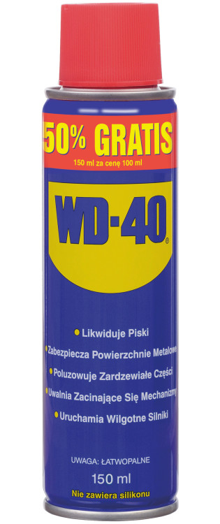 Preparat wielofunkcyjny wd-40 100ml +50% gratis